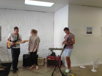 The Giveaways rehearse, Format studio, Adelaide, March 2012