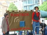 RantBox at CREATE Festival, Spitalfields London, July 2011